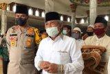 Masjid terbesar di OKI gelar Shalat Jumat setelah tiga bulan ditutup