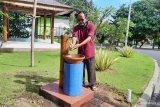 Pengelola objek wisata Pantai Pandawa Badung siap terapkan normal baru apabila obyek pariwisata itu dibuka kembali