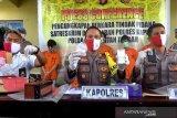 Berikut pengungkapan kasus narkoba di Kapuas sejak Januari