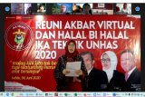 Jusuf Kalla ikut reuni akbar virtual Ikatek Unhas