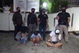 Tiga remaja hendak tawuran diamankan polisi, celurit dan golok jadi barbuk