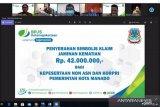 BPJAMSOSTEK memberikan santunan kematian peserta non-ASN Pemkot Manado