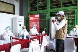 Ribuan santri Gontor ikuti tes cepat yang digelar Relawan Indonesia Bersatu