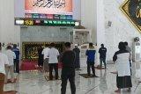 Masjid Agung Syekh Yusuf Gowa difungsikan kembali dengan pembatasan jemaah