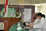 Gubernur Nurdin Abdullah paparkan upaya pengendalian COVID-19 kepada Tim Gugus Tugas