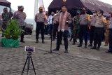 Kapolda Sulut kunjungi tiga kabupaten kepulauan dengan Jetsky
