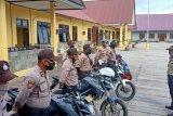 Polres Asmat gelar patroli imbau warga waspadai virus corona