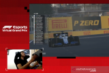 Russell ukir hattrick kemenangan di F1 esports setelah raih juara di Baku