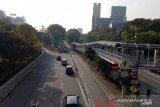 Hari pertama PSBB transisi, arus Lalu Lintas Jakarta ramai lancar