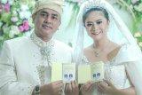 Putri Indonesia Qory resmi menikah dengan Shah Rei