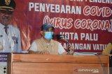 Hasil tes cepat COVID-19  Wali Kota Palu non-reaktif