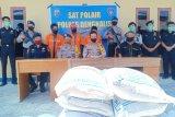 Kapal pengangkut 30 ton gula ilegal asal India diamankan di Bengkalis