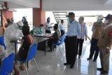 Bupati Sleman pantau langsung pelaksanaan RDT dan swab pedagang Pasar Prambanan
