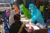 10 orang reaktif hasil tes cepat di  Pasar Kejajar Wonosobo
