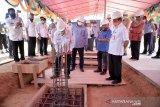 Menteri KP  awali pembangunan tambak udang vaname terbesar di Sulteng