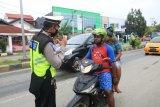 Polresta Jayapura sosialisasikan kebijakan normal baru ke warga