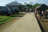Aksi larangan pelintasan angkutan logistik masih berlangsung di Flores Timur