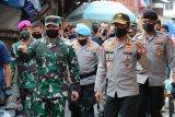 Panglima TNI dan Kapolri tinjau kesiapan penerapan New Normal Tanah Abang dan Bandara