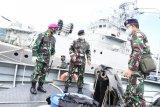 Danlantamal VIII sidak KAL Pulau Karakelang Di Bitung
