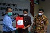 KSP Sahabat Mitra Sejati kembali salurkan bantuan sembako bagi warga terdampak COVID-19