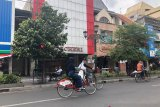 Pesepeda di Yogyakarta wajib kenakan masker dan jaga jarak
