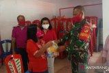 Babinsa Sangihe dampingi petugas di desa awasi pendatang