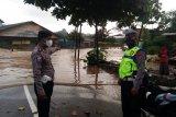 Satlantas Polresta Bandarlampung rekayasa lalu lintas akibat banjir