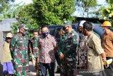 Bupati Bantaeng dan Kasdam XIV/Hasanuddin tinjau lokasi TMMD