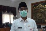 Lima pasar di Temanggung ditutup, disemprot disinfektan