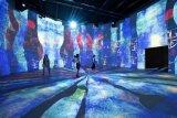 Pusat seni digital terbesar di dunia dibuka di Prancis