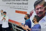 25 ton gula semut Cilacap diekspor ke Brasil