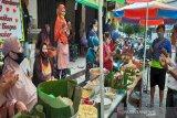 Bebas COVID-19, pedagang Pasar Kembang Solo gelar syukuran