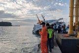 66 penumpang KM Dharma Rucitra III berhasil dievakuasi dengan selamat di Padangbai