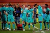 Bek Barcelona Jordi Alba fokus performa ketimbang kuatirkan pesaing
