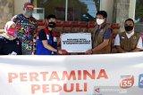 Bantuan Pertamina MOR VII untuk korban banjir bandang Bantaeng