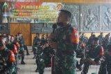 Prajurit TNI Satgaspam Perbatasan Indonesia-PNG di Merauke dapat pembekalan tugas