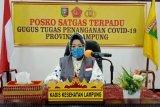 Satu pasien positif COVID-19 dan PDP meninggal di Lampung