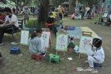 Kawasan CFD Kambang Iwak  Palembang Ramai dikunjungi warga