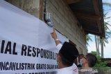PLN Suluttenggo Peduli Beri CSR Sambungan Listrik Gratis