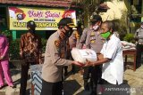 Polres OKU salurkan bantuan beras kepada korban banjir