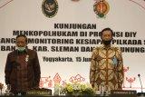 Menkopolhukam pastikan kesiapan DIY selenggarakan Pilkada 9 Desember