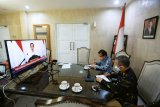 Penjabat Wali Kota Makassar ikuti rakornas virtual pengawasan intern pemerintah