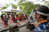 Pelantikan PPS di Makassar dengan protokol kesehatan