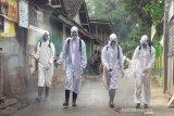 Disemprot disinfektan, Pasar Jumo Temanggung ditutup tiga hari