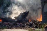 Pesawat tempur TNI AU jatuh di Riau, pilot lontarkan diri dan selamat