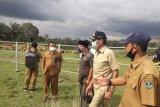 Tinjau UPT Peternakan Air Runding, Gubernur berharap tak ada ternak yang mati (Video)
