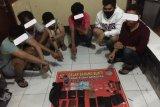 6 pemuda tengah asyik pesta narkoba digerebek polisi