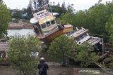 Kapal penangkap ikan Sri Langka tanpa awak ditemukan terombang-ambing di perairan Aceh