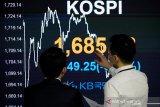 Saham Korea Selatan menguat