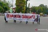 Aksi bisu jurnalis sambut sidang ketiga Nanta